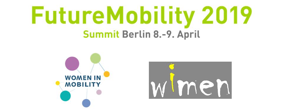 WIMEN-Vorstandsmitglieder Bei Der Future Mobility 2019 In Berlin