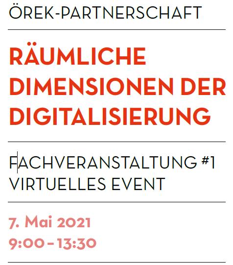 Angela Muth Als Inputgeberin Bei Der 1. Fachveranstaltung Des ÖREK Am 7. Mai 2021