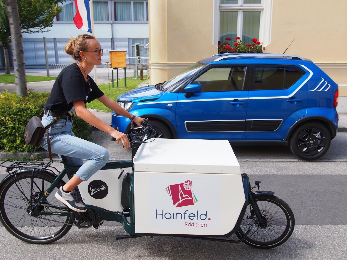 HAINFELDrädchen: ökologischer Einkaufs-, Zustell- Und Besorgungsservice Mit Dem Lastenrad!